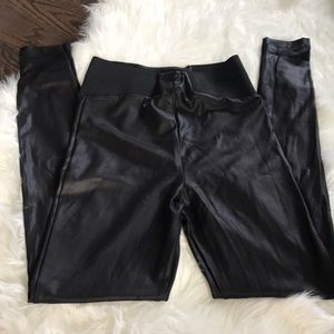 ASOS high waisted black pants